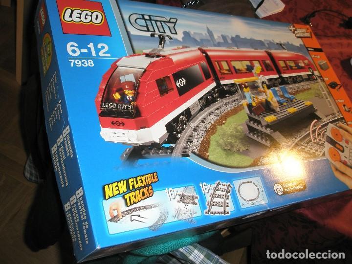 Trenes Escala: LEGO SET REF:7938 LEGO TREN DE CERCANIAS NUEVO A ESTRENAR CON PRECINTOS SELLADO.DESCATALOGADO - Foto 2 - 156697870