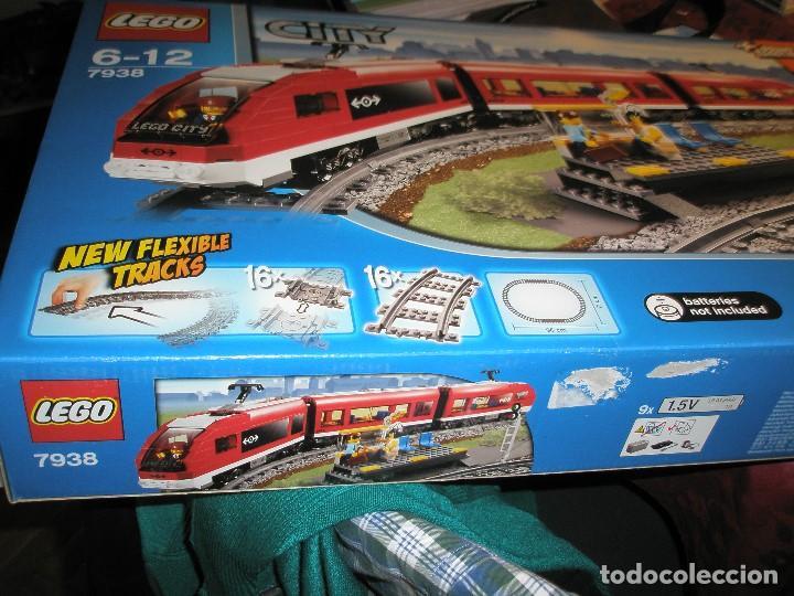 Trenes Escala: LEGO SET REF:7938 LEGO TREN DE CERCANIAS NUEVO A ESTRENAR CON PRECINTOS SELLADO.DESCATALOGADO - Foto 3 - 156697870