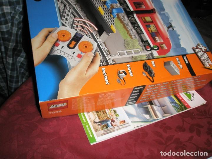 Trenes Escala: LEGO SET REF:7938 LEGO TREN DE CERCANIAS NUEVO A ESTRENAR CON PRECINTOS SELLADO.DESCATALOGADO - Foto 4 - 156697870