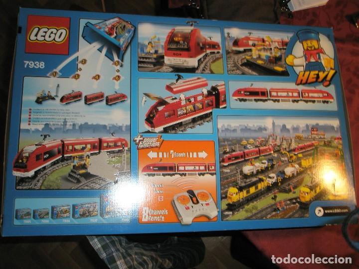 Trenes Escala: LEGO SET REF:7938 LEGO TREN DE CERCANIAS NUEVO A ESTRENAR CON PRECINTOS SELLADO.DESCATALOGADO - Foto 5 - 156697870