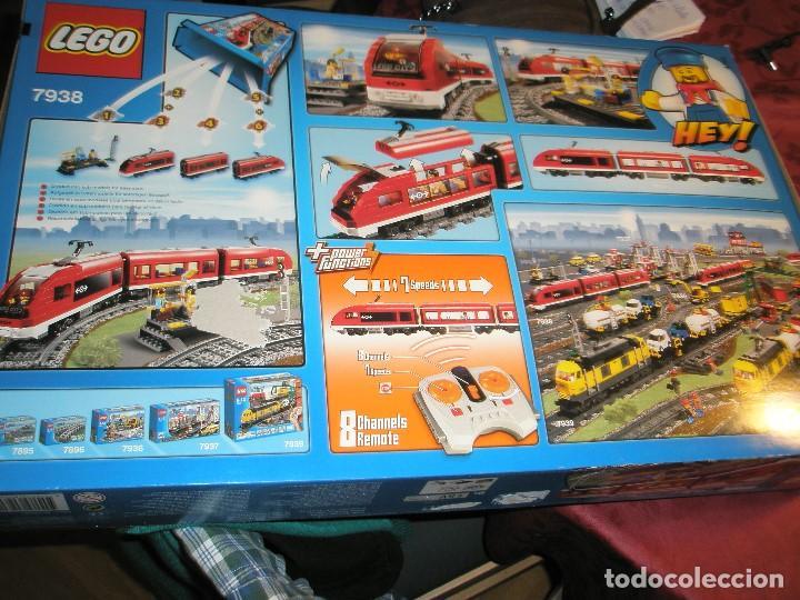 Trenes Escala: LEGO SET REF:7938 LEGO TREN DE CERCANIAS NUEVO A ESTRENAR CON PRECINTOS SELLADO.DESCATALOGADO - Foto 6 - 156697870