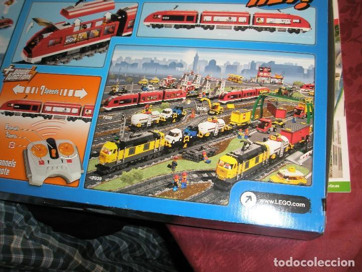 Trenes Escala: LEGO SET REF:7938 LEGO TREN DE CERCANIAS NUEVO A ESTRENAR CON PRECINTOS SELLADO.DESCATALOGADO - Foto 7 - 156697870