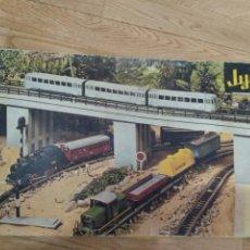 Trenes Escala: LOTE TRENES ELÉCTRICOS A PILAS JYESA. Lote 156737185
