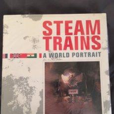Trenes Escala: STEAM TRAINS A WORLD PORTRAIT. Lote 156866394