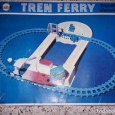 Trenes Escala: TREN FERRY JUGUETES RICO, TREN RICO. TREN DE JUGUETE, JUGUETE ANTIGUO, TREN ANTIGUO. Lote 157941866