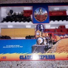 Trenes Escala: TREN CLASSIC EXPRESS , TREN DE JARDIN, TREN DE JUGUETE, JUGUETE ANTIGUO. Lote 158310066