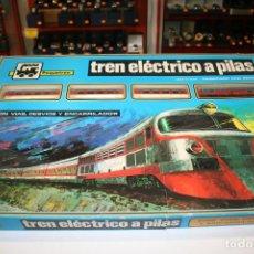 Trenes Escala: PEQUETREN TREN ELÉCTRICO A PILAS. Lote 158409886