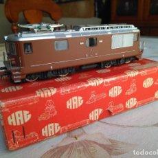 Trenes Escala: LOCOMOTORA HAG HO REF 181. Lote 158549886