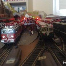 Trenes Escala: IMPRESIONANTE MAQUETA TREN ESCALA N DIGITAL. Lote 158947330