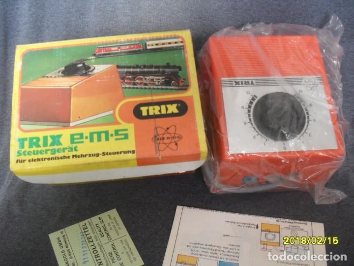 REGULADOR ELECTRONICO PARA TRENES CC TRIX (Juguetes - Trenes - Varios)