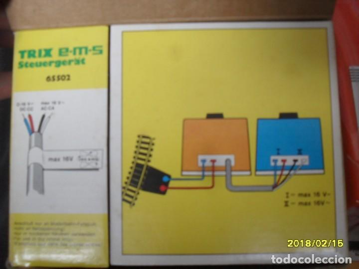 Trenes Escala: regulador electronico para trenes CC TRIX - Foto 3 - 159385686