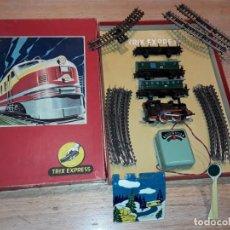 Trains Échelle: ANTIGUO TRIX EXPRESS, GERMANY, EN CAJA, FUNCIONANDO.. Lote 160322282