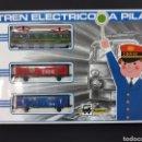 Trenes Escala: TREN A PILAS PEQUETREN NUEVO SIN USO. Lote 160730977