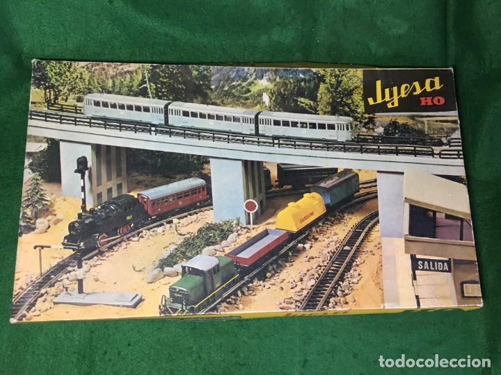 TREN JYESA A PILAS ESC. H0 (Juguetes - Trenes Escala H0 - Otros Trenes Escala H0)