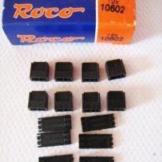 Trenes Escala: ROCO. 8 ADAPTADORES PARA CABLES (REF. 10602) H0/N. Lote 162445478
