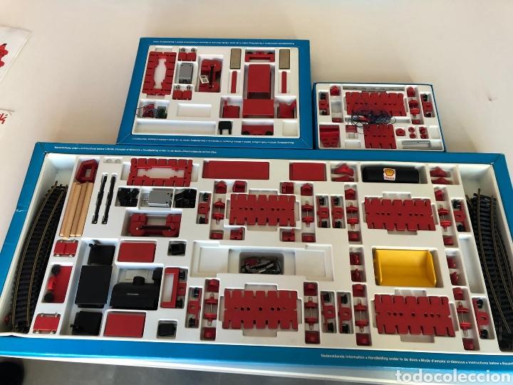 Trenes Escala: Lote 3 Fischer technik Bau Spiel Bahn construction model railway tren construcción - Foto 2 - 163000981