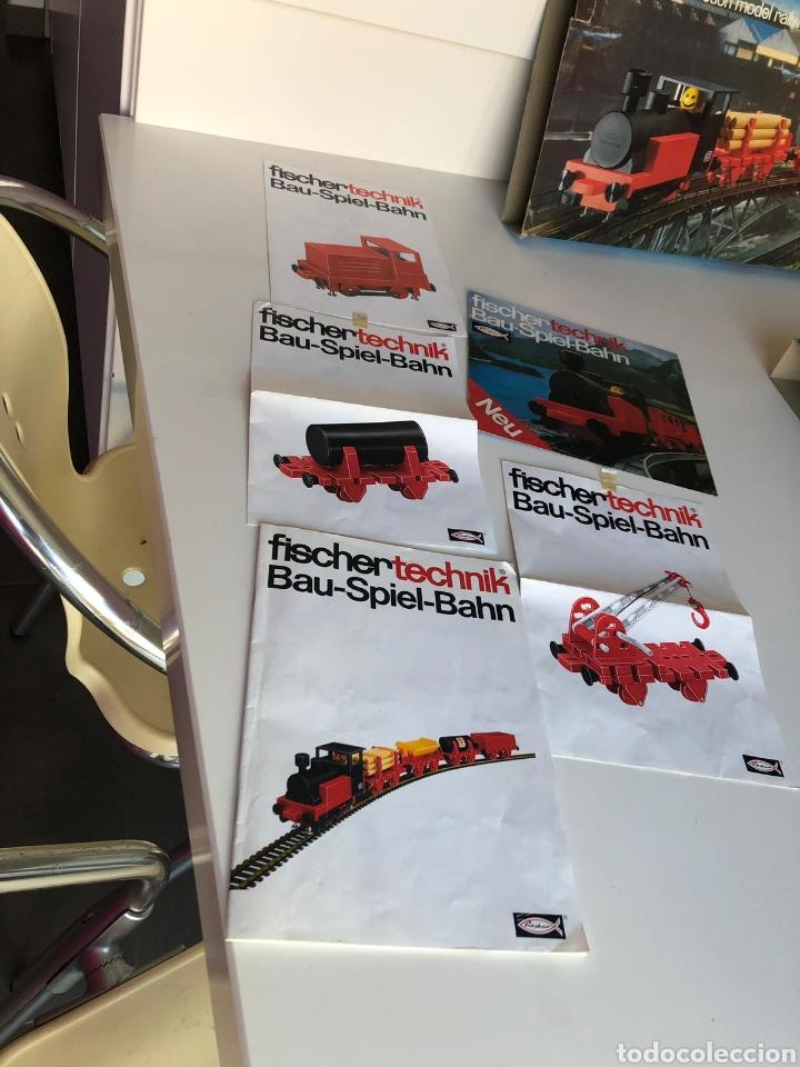 Trenes Escala: Lote 3 Fischer technik Bau Spiel Bahn construction model railway tren construcción - Foto 3 - 163000981