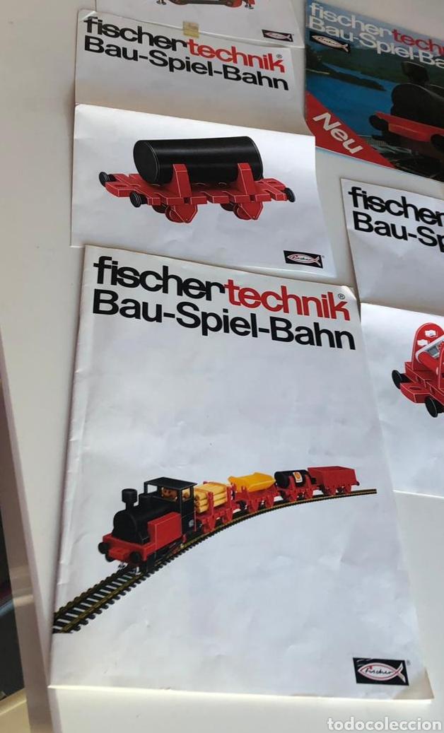 Trenes Escala: Lote 3 Fischer technik Bau Spiel Bahn construction model railway tren construcción - Foto 7 - 163000981