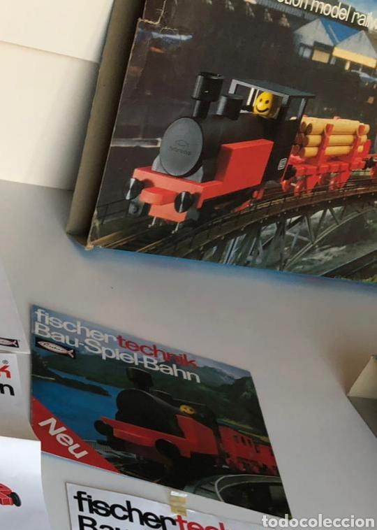 Trenes Escala: Lote 3 Fischer technik Bau Spiel Bahn construction model railway tren construcción - Foto 8 - 163000981