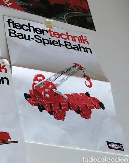 Trenes Escala: Lote 3 Fischer technik Bau Spiel Bahn construction model railway tren construcción - Foto 9 - 163000981