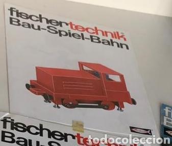 Trenes Escala: Lote 3 Fischer technik Bau Spiel Bahn construction model railway tren construcción - Foto 10 - 163000981