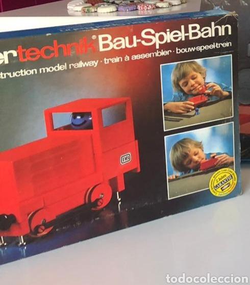 Trenes Escala: Lote 3 Fischer technik Bau Spiel Bahn construction model railway tren construcción - Foto 11 - 163000981