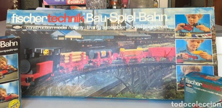 Trenes Escala: Lote 3 Fischer technik Bau Spiel Bahn construction model railway tren construcción - Foto 12 - 163000981