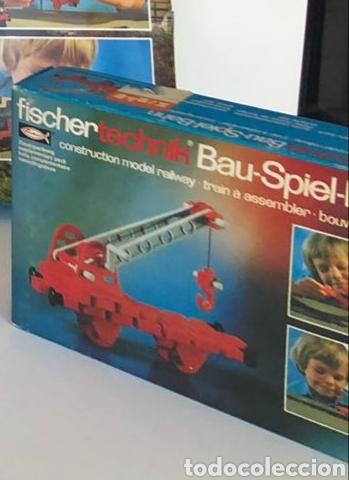 Trenes Escala: Lote 3 Fischer technik Bau Spiel Bahn construction model railway tren construcción - Foto 13 - 163000981