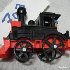 Trenes Escala: ESPECTACULAR MAQUINA DE TREN A VAPOR TAMAÑO MEDIANO CON FIGURA NUEVO MADE IN SPAIN. Lote 163138166