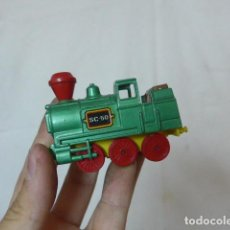 Trenes Escala: ANTIGUA LOCOMOTORA DE TREN DE GUSIVAL, ORIGINAL. Lote 164631246