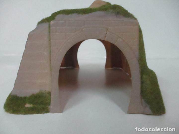Trenes Escala: Lote de Bocas de Túnel - Escala H0 - Doble Via - 2 Túneles en Curva - Foto 23 - 164720290