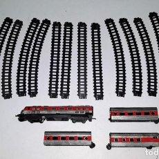 Trenes Escala: CONJUNTO TREN VALTOY TALGO FUNCIONA CORRECTAMENTE EN BUEN ESTADO VER FOTOS Y DESCRIPCION. Lote 165609026