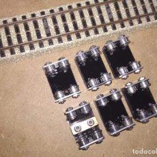 Comboios Escala: TRENES ESCALA H0. JUEGO DE RODILLOS CON RODAMIENTOS A BOLAS. BANCO DE PRUEBAS LOCOMOTORAS AC. Lote 166646825
