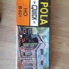 Trenes Escala: POLA QUICK COCHERA LOCOMOTORAS H0 B 601. Lote 166805712