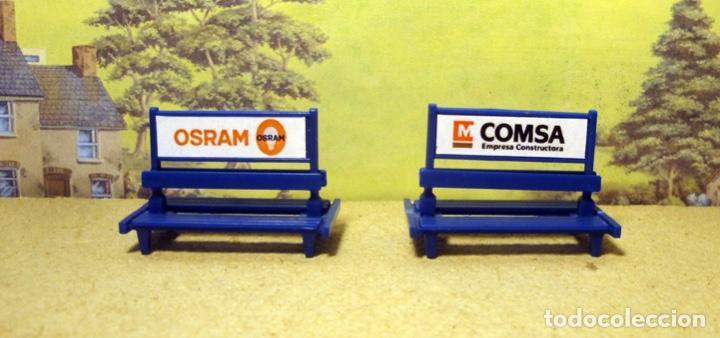 Trenes Escala: Bancos modernos para andenes y estaciones - Foto 3 - 167625212