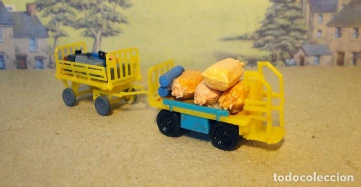 Trenes Escala: Par de carros portaequipajes - Foto 2 - 167737400
