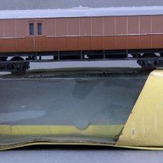 Trenes Escala: VAGÓN MERCANCÍAS LILIPUT H0 CON CAJA REF 298. Lote 167796900