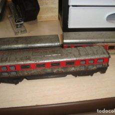 Trenes Escala: DESGUACE TREN VALTOY , HOJALATA . AÑOS 70 . PARA REPUESTOS . Lote 168092220