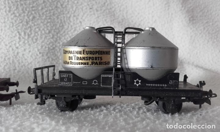Trenes Escala: 3 vagones de mercancías Jouef. Escala H0 - Foto 4 - 168214184