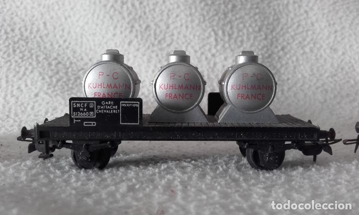 Trenes Escala: 3 vagones de mercancías Jouef. Escala H0 - Foto 5 - 168214184