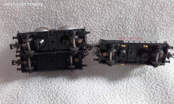 Trenes Escala: 3 vagones de mercancías Jouef. Escala H0 - Foto 7 - 168214184
