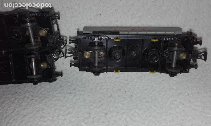 Trenes Escala: 3 vagones de mercancías Jouef. Escala H0 - Foto 9 - 168214184