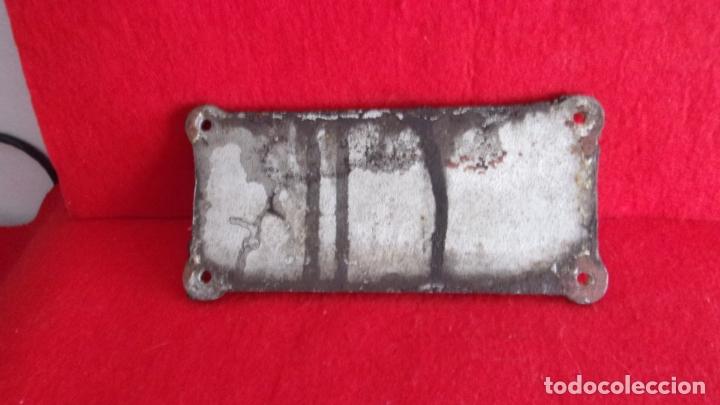 Trenes Escala: placa para vagon de tren,renfe,aluminio muy recio,hecha en valencia por maconsa - Foto 3 - 168338104