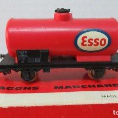 Trenes Escala: JOUEF VAGON CISTERNA ESSO CON CAJA. Lote 168594672