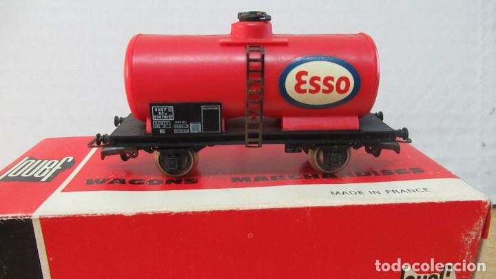 Trenes Escala: Jouef vagon cisterna ESSO con caja - Foto 3 - 168594672