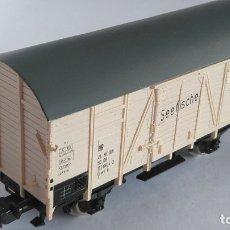 Trenes Escala: PIKO H0 VAGÓN CARGA CERRADO. VÁLIDO IBERTREN,ROCO,MARKLIN,ETC. Lote 168992660