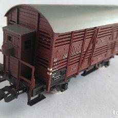 Trains Échelle: PIKO H0 VAGÓN CARGA CERRADO CON GARITA, VÁLIDO IBERTREN,MARKLIN,ROCO,FLEISCHMANN,ETC. Lote 169008564