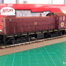 Trenes Escala: LOCOMOTORA ATLAS ALCO S-1 CHICAGO & GREAT WESTERN ESCALA H0 (NUEVA). Lote 169205896