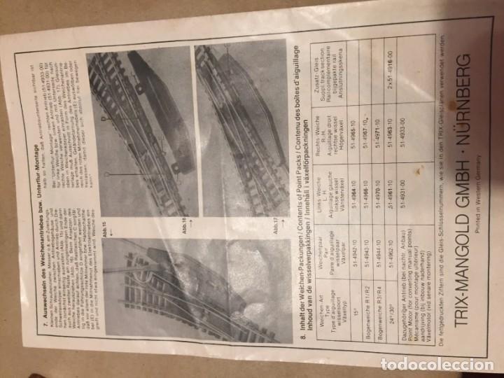 Trenes Escala: TREN MAQUETA minitrix 4994 - Foto 7 - 169391316