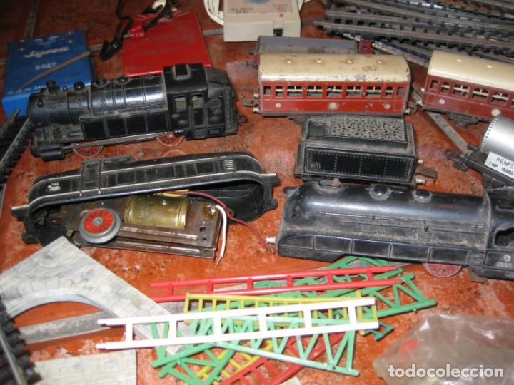 Trenes Escala: gran lote trenes tren 2 locomotora vagones tramos via piezas , paya jyesa ibi - Foto 2 - 170106850